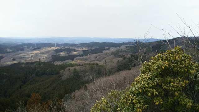 御岩山からの眺め