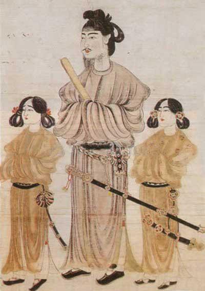 聖徳太子及び二王子像