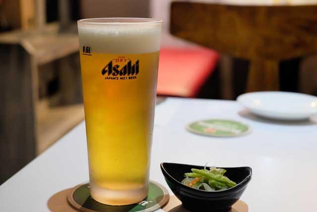 アサヒ生ビールイメージ