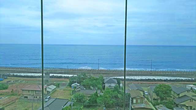 JR日立駅から太平洋