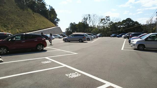 神峯山寺駐車場