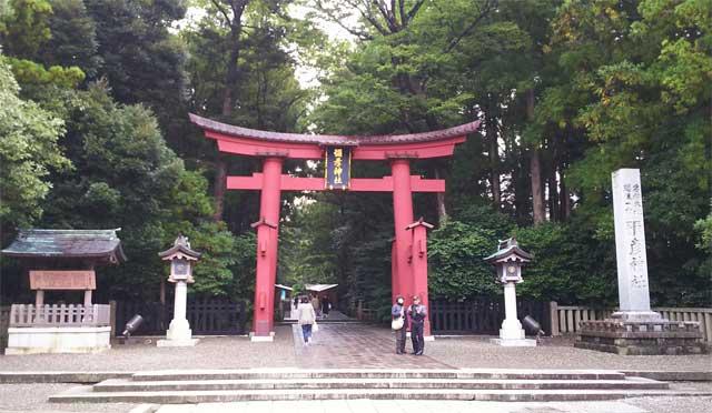 彌彦神社・一の鳥居