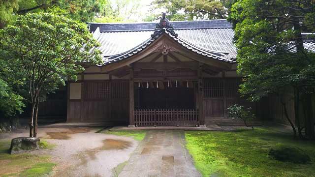 彌彦神社斎館