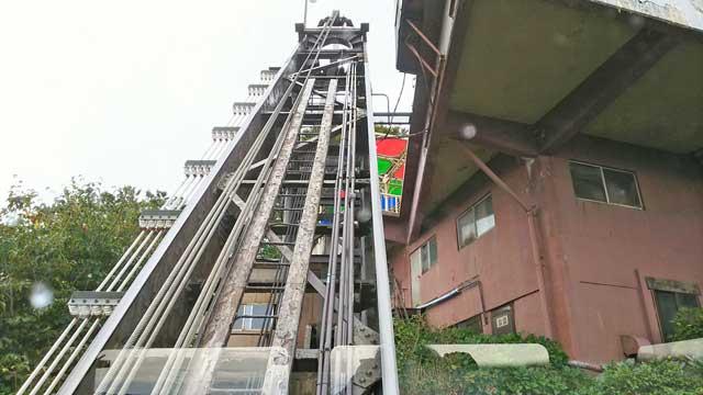 クライミングカー(斜行エレベーター)