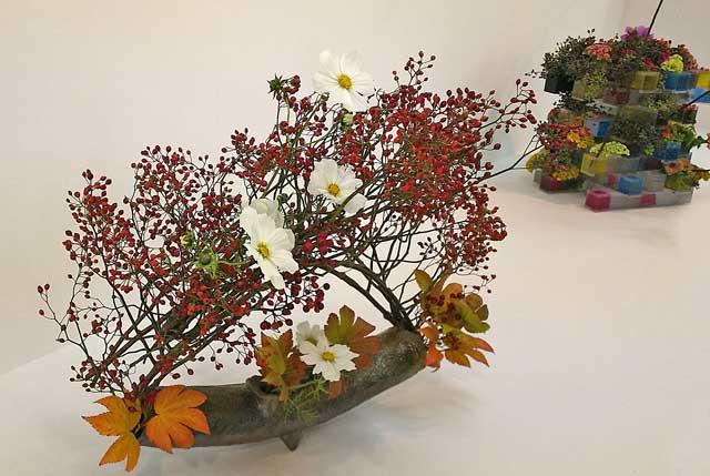 池坊の生け花