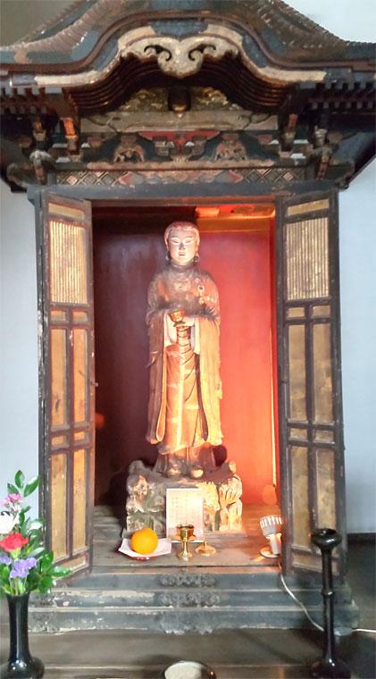 聖徳太子孝養像