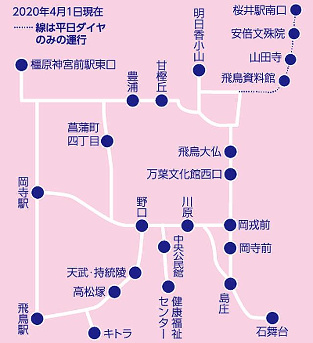 赤かめ路線図