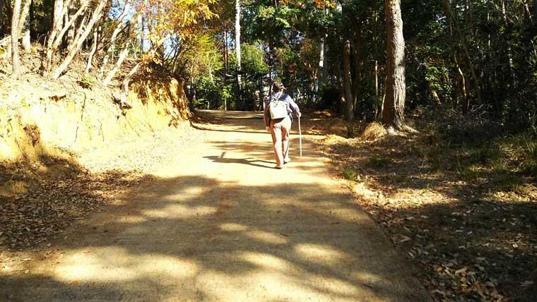 本山への道