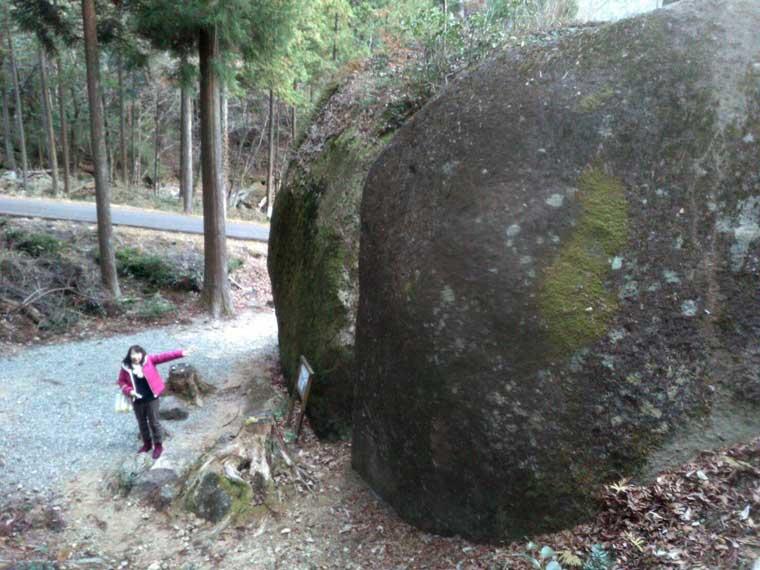 金谷加巨石群の巨石