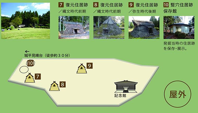 縄文公園見取り図