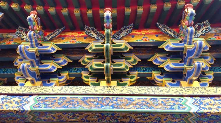横浜媽祖廟のデザイン